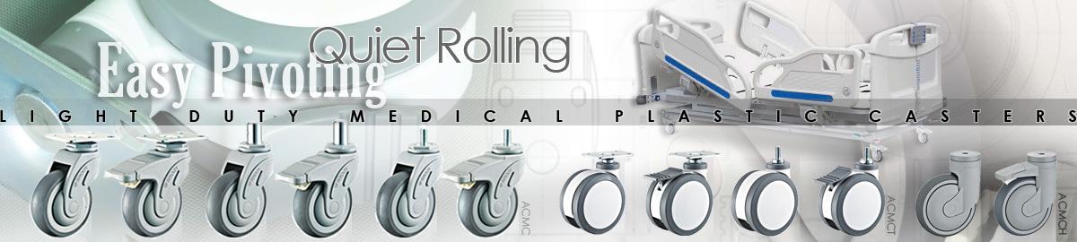 Carrymaster Medical Plastic Casters