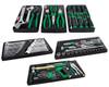 Toptul GCBZ120AB 121 Piece 6 Drawer Metric/AF Tool Kit + 6 Drawer Roller Cabinet