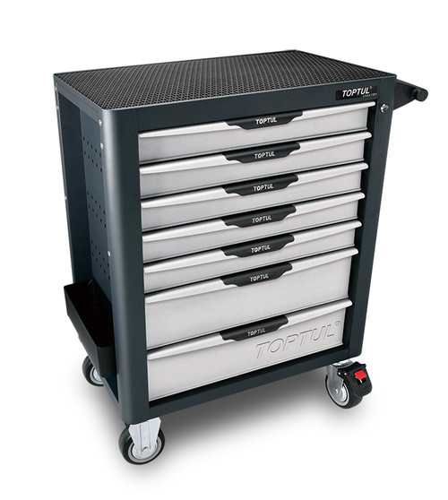 Toptul TCAL0703 Pro-Plus Mobile Tool Trolley 7 Drawer Gray