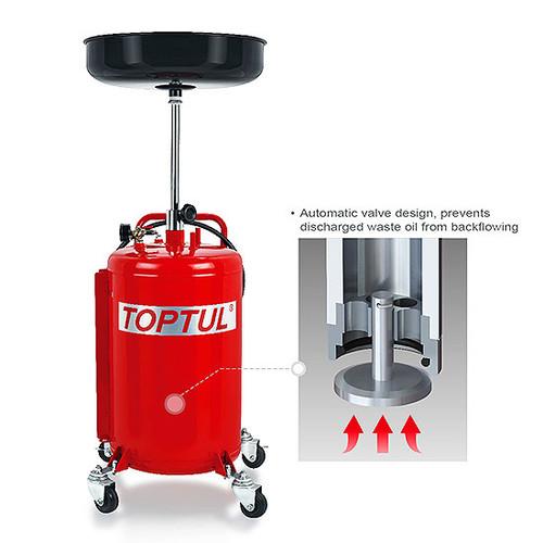 Toptul JJCZ0180J Waste Oil Drain 80L