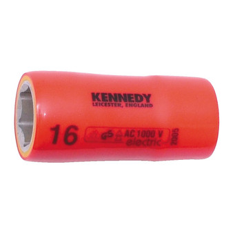 KennedyPro 12mm INSULATED HEXAGON SOCKET 12inch SQDR
