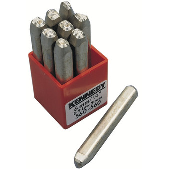 Kennedy 6.0mm SET OF 9 LOW STRESS FIGURE PUNCHES