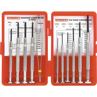 Kennedy 11PCE PRECISION SCREWDRIVER and TOOL SET