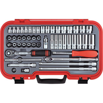 Kengrip METRIC 50PC KENGRIP SOCKET SET 38inch SQ DR
