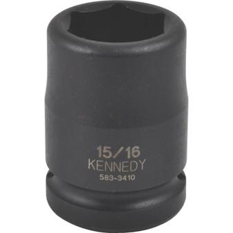Kennedy 1116inch AF IMPACT SOCKET34inch SQ DR