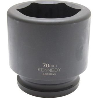 Kennedy 80mm  IMPACT SOCKET 112inch DR