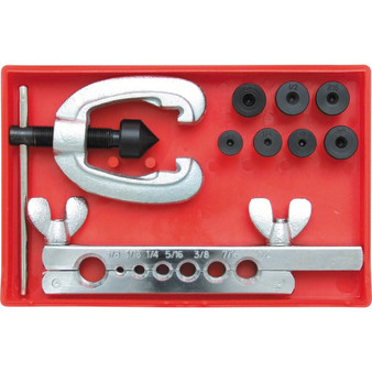 Kennedy DOUBLE FLARING TOOL SET 31658inch 9PCE