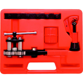 Kennedy COMPACT FLARING TOOL WITH CUTTERDEBURRER SET