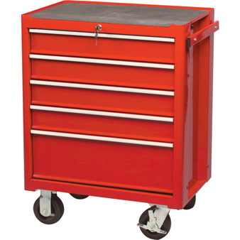 KennedyPro RED 5DRAWER PROFESSIONALROLLER CABINET