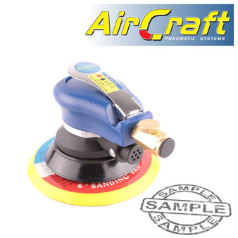 150MM ORBITAL PALM SANDER HOOK AND LOOP 2.4MM ORBIT