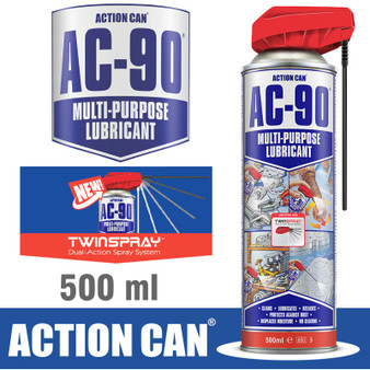 AC-90 LPG MULTI PURPOSE LUBE TWIN SPRAY 500ML