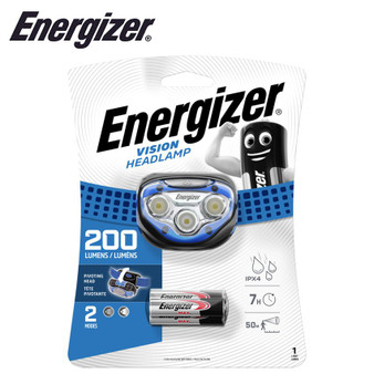 ENERGIZER 200LUM VISION HEADLIGHT BLUE