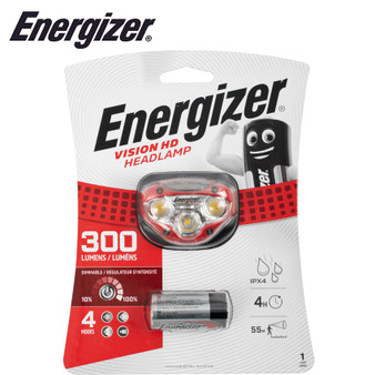 ENERGIZER 300 LUM VISION HD HEADLIGHT RED