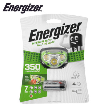 ENERGIZER 350 LUM VISION HD PLUS HEADLIGHT GREEN