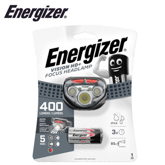 ENERGIZER 400 LUM VISION HD PLUS FOCUS HEADLIGHT GREY