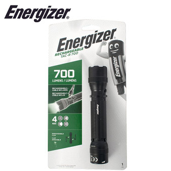 ENERGIZER TACTICLE RECHARGE TORCH 700 LUMENS
