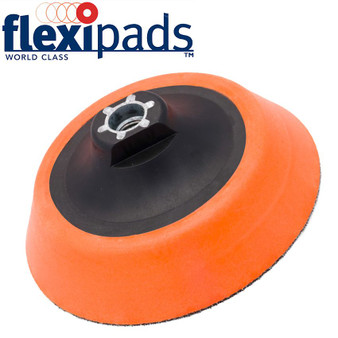 ULTRA SOFT HOOK AND LOOP PAD FOR ROTARY MACHINES 125MM M14