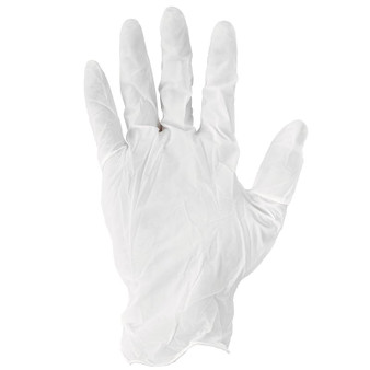 LARGE LATEX POWDERED GLOVES X100  PER BOX