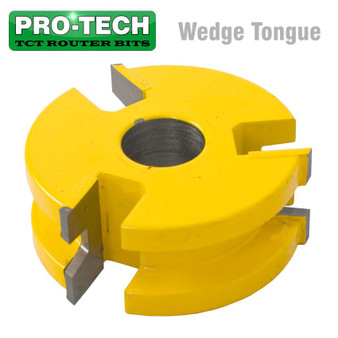 3 WING CUTTER WEDGE TONGUE