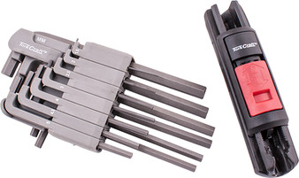 13PC METRIC HEX WRENCH SYSTEM 1.5-2-2.5-3-4-4.5-5-5.5-6-7-8-9-10MM
