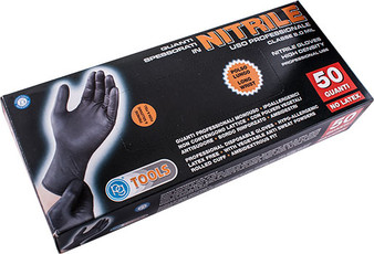 NITRILE GLOVES LARGE 50 PCE HIGH DENSITY ( X25 PAIRS )