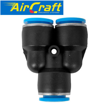 PU HOSE FITTING Y JOINT 12MM