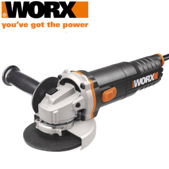 ANGLE GRINDER 750W 115MM 12000RPM M14 QUICK GUARD COL. BOX WORX