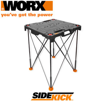 WORX PORTABLE FOLDING WORK TABLE SIDEKICK
