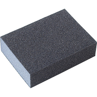 SANDING BLOCKS 96 x 69 x 25mm DOUBLE-SIDED ALUMINIUM OXIDE FINE/MEDIUM