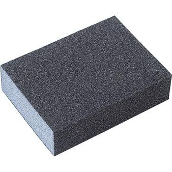 SANDING BLOCKS 96 x 69 x 25mm DOUBLE-SIDED ALUMINIUM OXIDE MEDIUM/COARSE