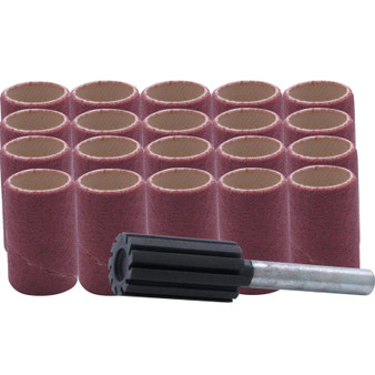 21 PIECES 15 x 30mm SANDING BAND KIT