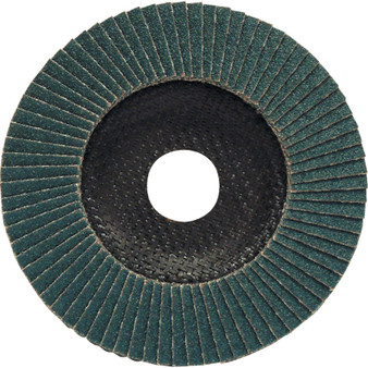 100 X 16mm FIBRE GLASS ZIRCONIUM FLAP DISC P80