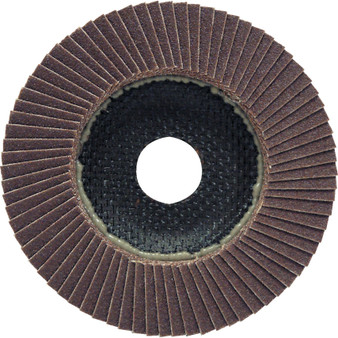 100 X 16mm FIBRE GLASS ALUMINIUM OXIDE FLAP DISC P120