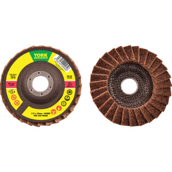 115 x 22.23mm NON-WOVEN FLAP DISC COARSE