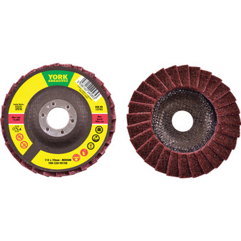 115 x 22.23mm NON-WOVEN FLAP DISC MEDIUM