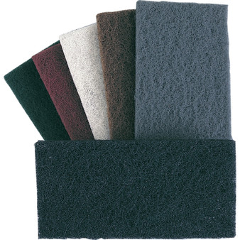 NON-WOVEN HAND PADS EXTRA EXTRA FINE GREY