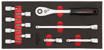 "11 Piece Modular Set - Torx Sockets 1/2"" Dr and Socketry"