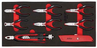 8 Piece Modular Set - Mini Cutters & Wire Twisting Pliers