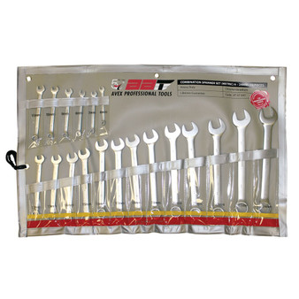 19 Piece Combination Spanner Set 6-24mm