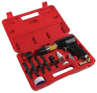 11 Piece Rivet Gun Kit 3X Gun