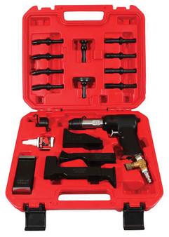 17 Piece Rivet Gun Set 3X Gun