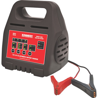 Kennedy 12V6V 4A INTELLIGENT AUTOMATIC BATTERY CHARGER