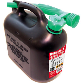 Kennedy 5LTR DIESEL FUEL CONTAINER  BLACK