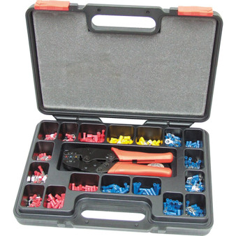 Kennedy HEAVY DUTY RATCHET CRIMPING TOOLKIT 552PCE
