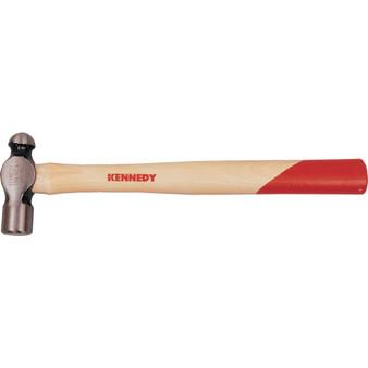 Kennedy 1.12lb BALL PEIN HAMMER,HARDWOOD HANDLE