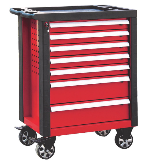 7 Drawer Roller Cabinet with corner protection