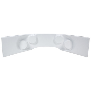 ALLSTAR PERFORMANCE ALL23242 Fiberglass Curved Dash Panel White Performance Oil Shop