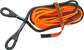 BUBBA ROPE BUB176756 3/8in x 50ft Synthetic Winch Line Extension Performance Oil Shop