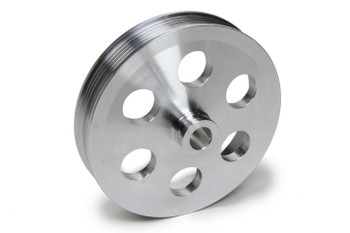FLAMING RIVER FLAFR1575 Power Steering Serpentine Pulley 6in GM Pump Performance Oil Shop