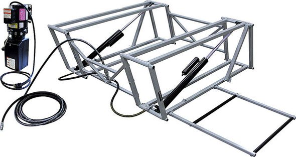 ALLSTAR PERFORMANCE ALL11270 Race Car Lift with Steel Frame Performance Oil Shop